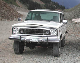 1976 Jeep Wagoneer - click here for more info about Lu's Jeeps