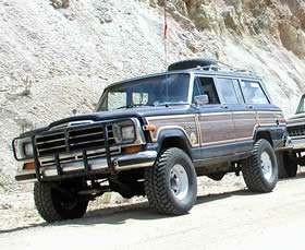 1988 Jeep Grand Wagoneer - click here for info on Flint's Jeep